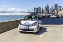 Smartere politibiler i New York – smart forcop