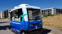 10 000 passasjerer testet selvkjørende buss