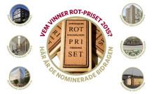 Och de sex nominerade till ROT-priset 2015 är...