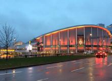 Idag lyser Scandinavium orange för att uppmärksamma FN:s kamp mot våld mot kvinnor
