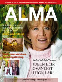 Blomsterfondens medlemstidning Alma, nummer 40