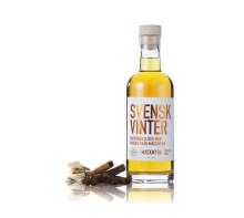 Svensk Vinter – Saturnus vitvinsglögg spetsad med Mackmyra whisky – Årets Svenska Glögg!