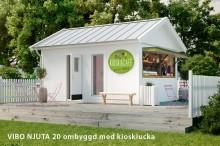 Attefallshus som kiosk
