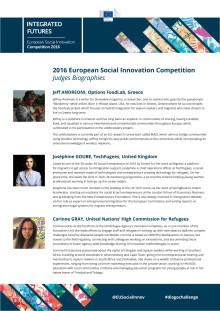 Juryn för sociala innovationer i EU 2016
