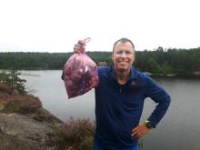 Ploggapremiär med miljöministern i Skåne