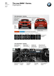 The new BMW 1 Series - Highlights