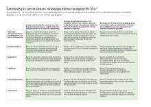 Budgetgranskning för 2017