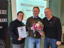 Finja Betong årets leverantörspartner 2019