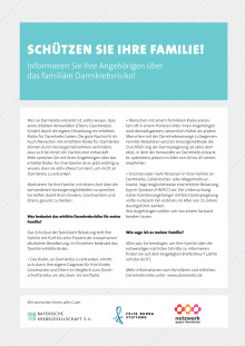 Informationen für Patienten und Angehörige