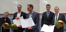 Lehr- und Forschungspreise 2017 der Technischen Hochschule Wildau verliehen