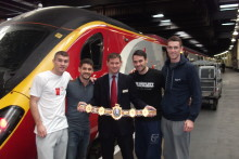Champion boxers the Smith brothers choose Virgin Trains