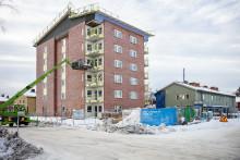 Umeå har fått Sveriges första hiss med inbyggd uppkoppling