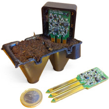 New wireless sensor for environmental friendly forest plant production