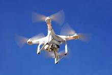 Leting etter raudåte ved hjelp av drone