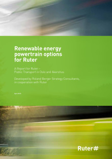 Renewable energy powertrain options for Ruter