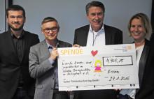 Kunden des Sutter Telefonbuchverlags erspielen rund 5.000 Euro für den VKJ