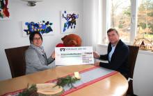 Weihnachtsspende der GSB Haungs GmbH für Bärenherz