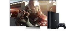 Saavuta äärimmäinen pelikokemus yhdistämällä Sony 4K HDR TV ja PlayStation®4 Pro
