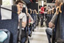 Många vill uppleva Sveriges inland med tåg i sommar