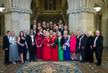 Mayor has a Ball at Lavish Charity Event