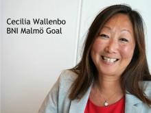 Cecilia Wallenbo - BNI blir bättre och bättre med tiden!