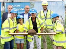 Nu bygger vi helt nya skollokaler för Laröds skola
