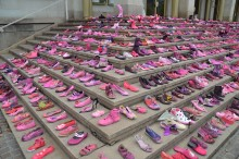 Schuhe gegen Brustkrebs: Am 29. September 2018 findet der 6. Pink Shoe Day in Leipzig statt