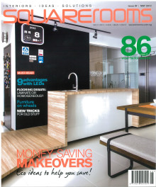 Evorich Flooring Featured In May Issue Of Squarerooms Magazine 2013