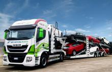 CNH Industrial og FCA støtter LNG for bærekraftig transportlogistikk