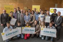 Presseinformation: Bürgerenergiepreis Unterfranken 2015 verliehen - Bayernwerk und Regierung von Unterfranken würdigen gesellschaftliche Impulse für die Energiezukunft