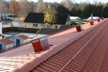 Snabbare, snyggare och stabilare med Moniers nya taksäkerhetssystem
