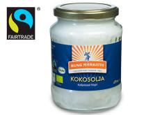Kung Markattas Kokosolja har blivit Fairtrade-märkt!