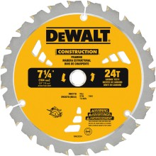 DEWALT Updates Construction Saw Blades