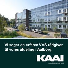KAAI søger erfaren VVS rådgiver til vores afdeling i Aalborg