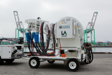 Shore power shines as ports of Los Angeles and Long Beach announce Clean Air Action Plan Awards