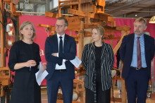 Samverkansplattform för hållbar svensk textil startar i Borås