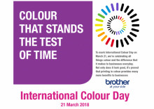 International Colour Day - Ontdek de voordelen van kleuren - 21 maart 2018