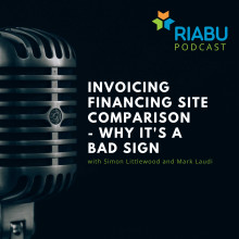 Invoicing financing site comparison - why it's a bad sign