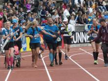 9-årige Hugo deltar i sitt femte raka Stockholm Marathon!