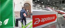 Apotea lanserar som första e-handlare i Sverige fossilfria hemleveranser från lager till kund med Airmee