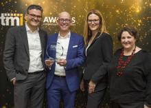 TMI-Preisverleihung in London: TIS für die beste Customer Experience ausgezeichnet