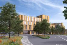 Byggstart för ny vårdbyggnad på Helsingborgs lasarett