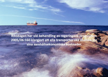 Stockholm Shippers ville lära sig mer om Sjöfart