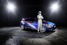 """Ford GT och spelanpassade Forza Focus RS är stjärnor på Gamescom. """"The Stig"""" från Top Gear avtäcker Focus RS – specialdesignad av spelare"""