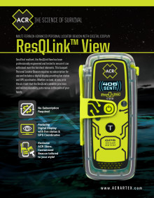 ACR Electronics ResQLink View PLB Spec Sheet