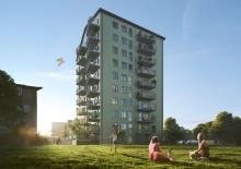 Veidekke säljstartar 56 lägenheter i stadsnära Flatås, Göteborg
