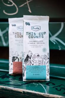 Nytänkande kaffe hjälper lokala ideella organisationer