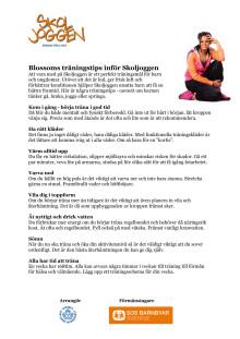 Blossom tips