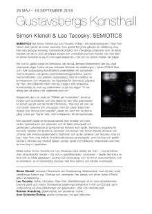Semiotics, Simon Klenell & Leo Tecosky