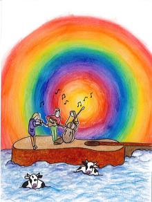 Toarullar, dockor, instrumentbygge och långväga besök under nästa Familjelördag!